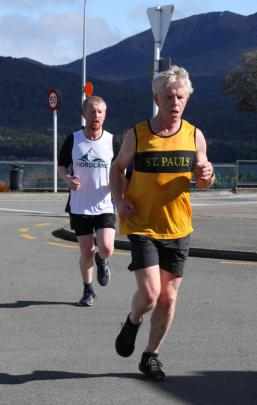 Alistair Green of Fiordland third in the Open senior men 10km in a time of 44.24 is in hot...