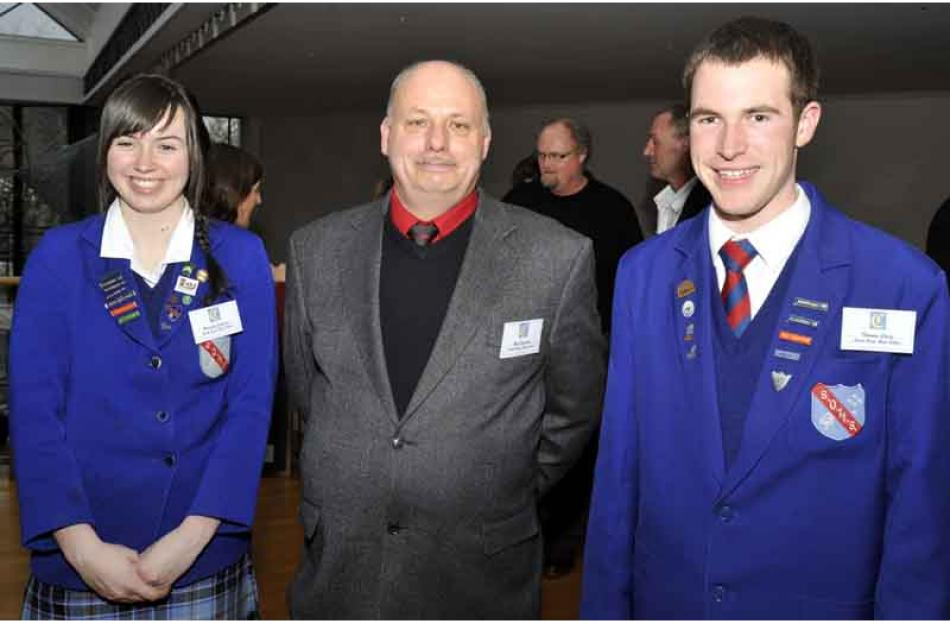 Natasha Cameron, Nick Simpson and Thomas Craig, all of South Otago.
