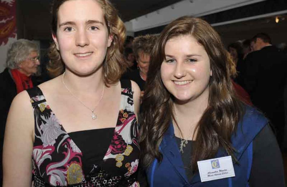 Sascha Bruce and Alexandra Winsloe, Mount Aspiring College.