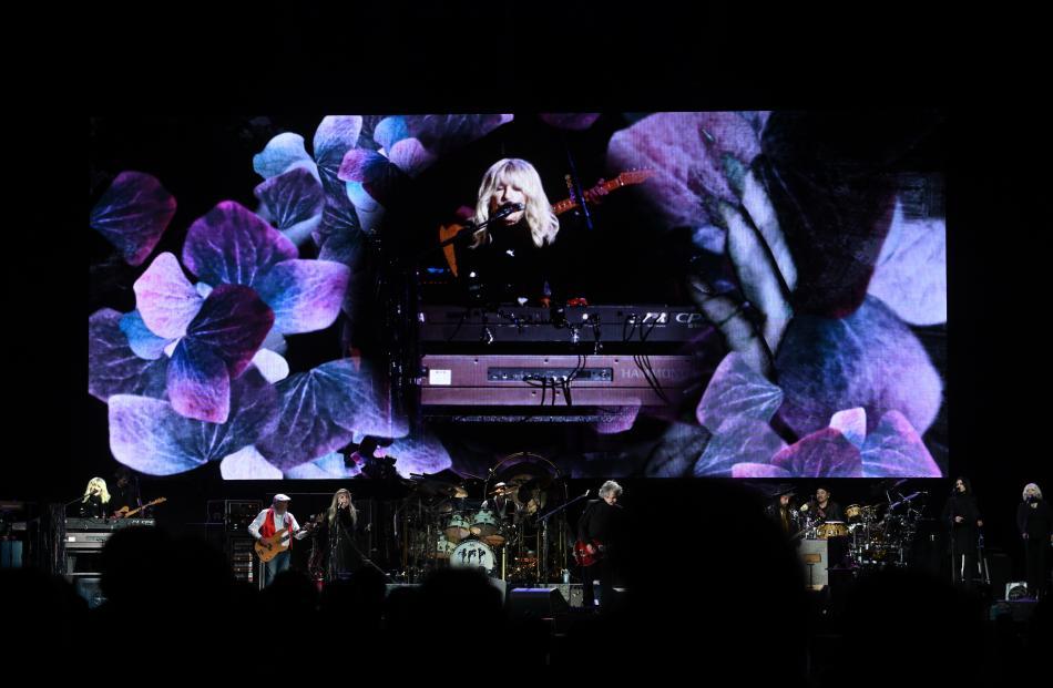 Fleetwood Mac wow the audience at Forsyth Barr Stadium. Photo: Linda Robertson
