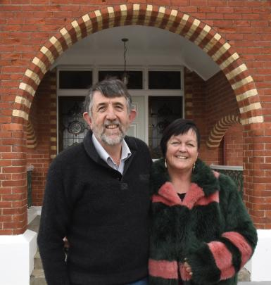 """Eunan Cleary and Gillian Alexander moved into the historic home from an """"ultra-modern"""" house in..."""