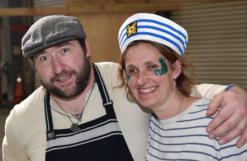 David Burt and Jacqueline Burt, of Bracken Restaurant.
