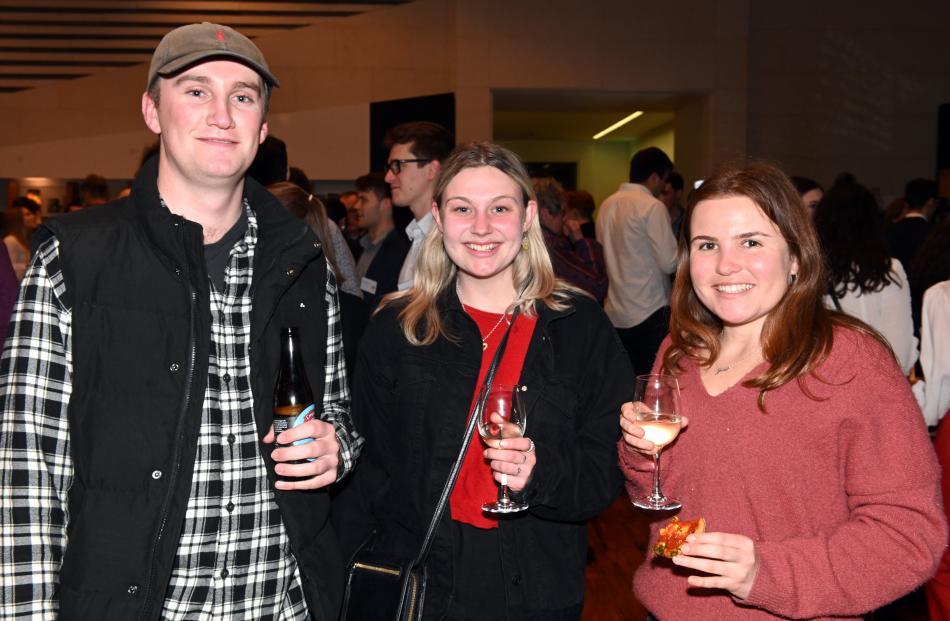 William Middelberg, Livi Smith and Jessica Beattie, all of Dunedin.