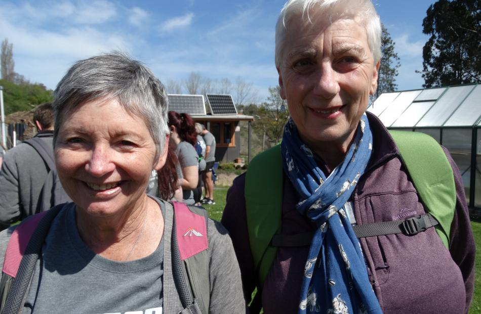 Glynis Kappely and Ineke van den Broek, both of Oamaru.