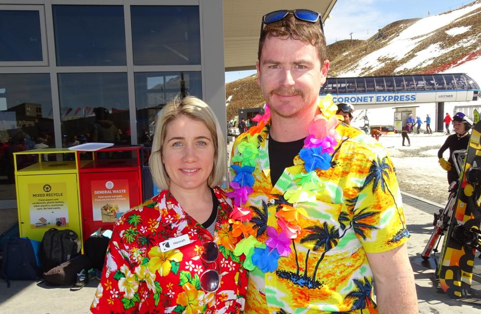 Hannah Clancy and Brendan Ferry, both of Queenstown.