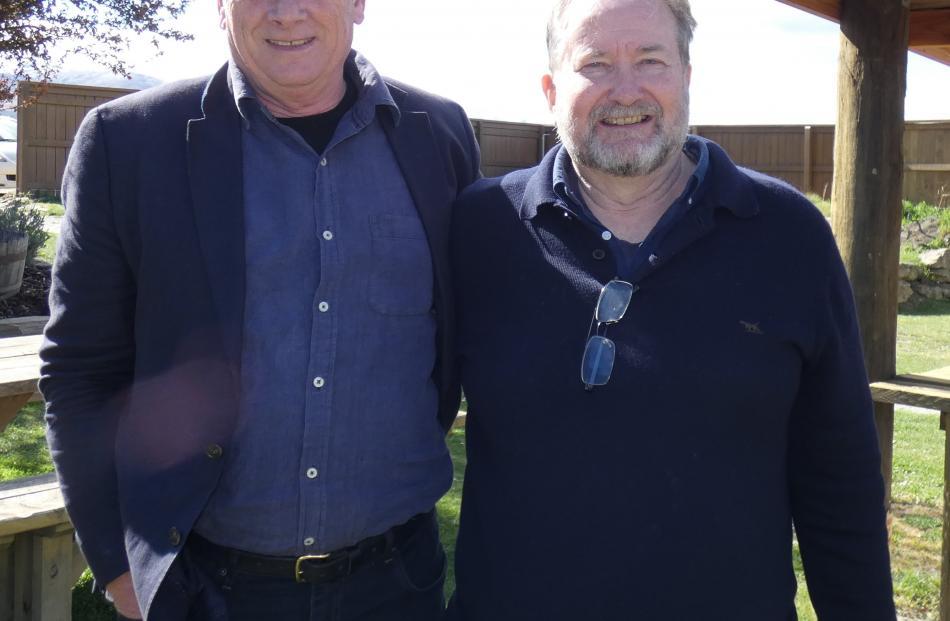 Lloyd Jones, of Wellington, and Alan Coull, of Bannockburn.