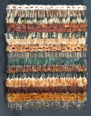 Huruhuru XXV, by Rosalind Moseby, of Invercargill.