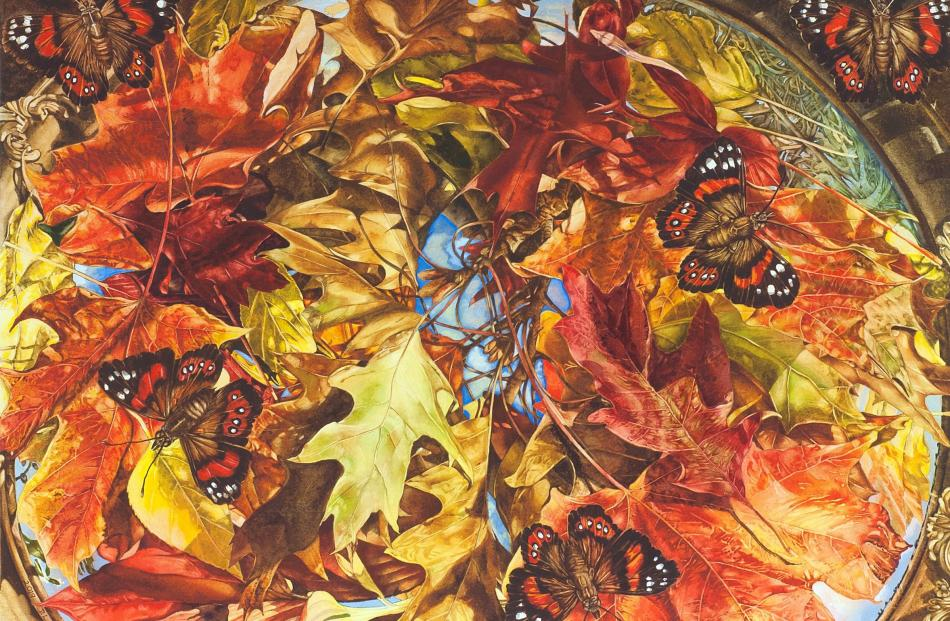 Reflections of Autumn by Dorothy Piper.