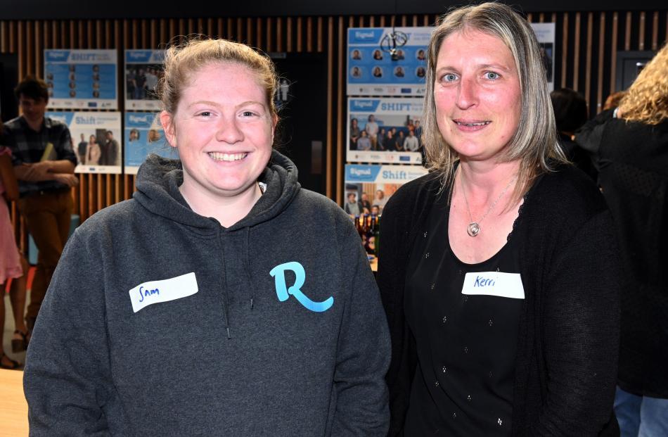 Sam Watson, of Dunedin, and Kerri Hayes, of Mosgiel.