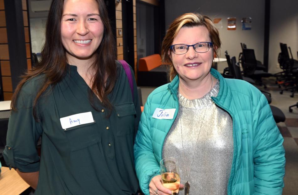 Amy Heinrich and Julia Anne, both of Dunedin.