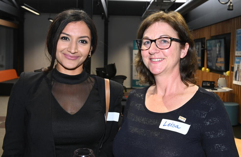 Manya Sabherwal and Leisa Browne, both of Dunedin.