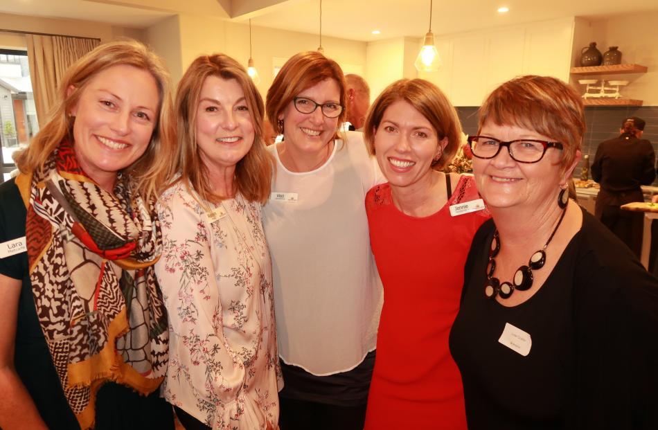 Lara Metcalfe, of Wanaka, Robin Frey, of Queenstown, Vicci Lawrence, of Queenstown, Jennie...