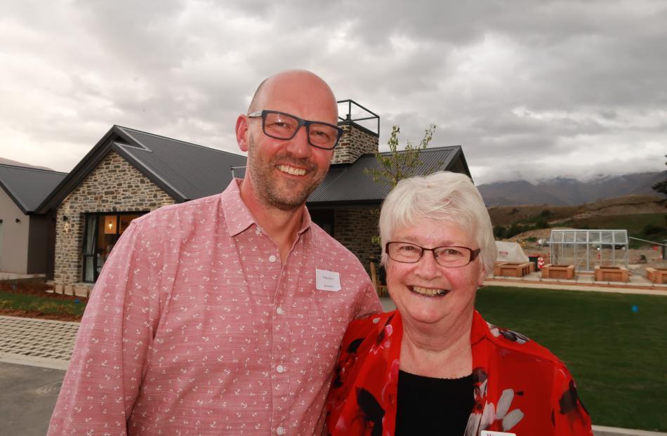Phillip Bunn, of Arrow Junction, and Margaret Bunn, of Arrowtown.