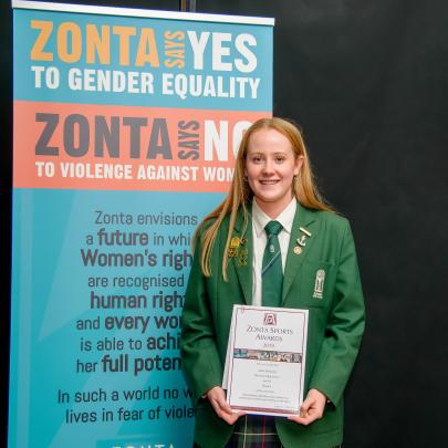 Sami Donnelly, Avonside Girls High School,  most outstanding individual achievement by a young...
