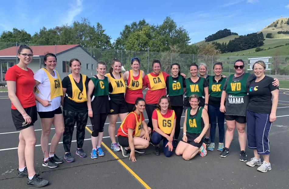 It was a healthy day of competition on the netball court, with Waikouaiti earning its first win...