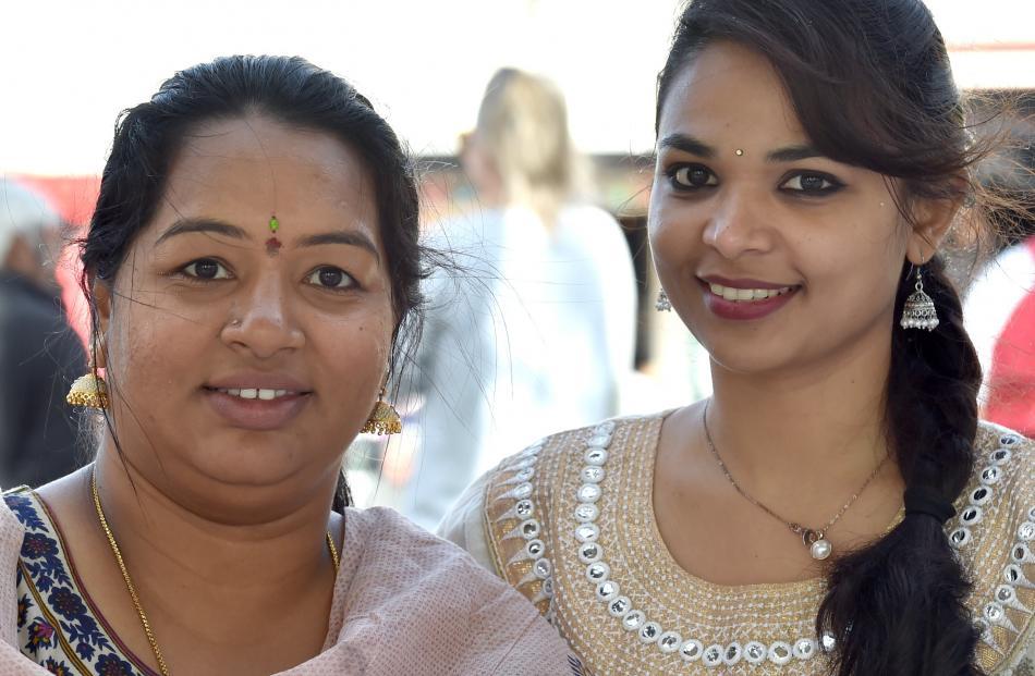 Lohitha Putha and Manju Ganesh.