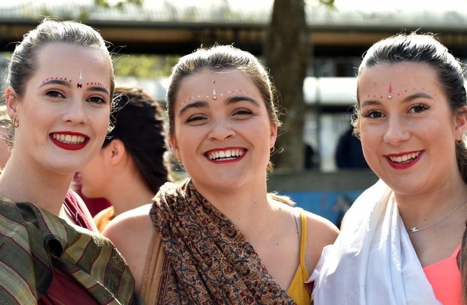 Abby Morice (18), Brooke Clark (19) and Kailey Northcott (21).
