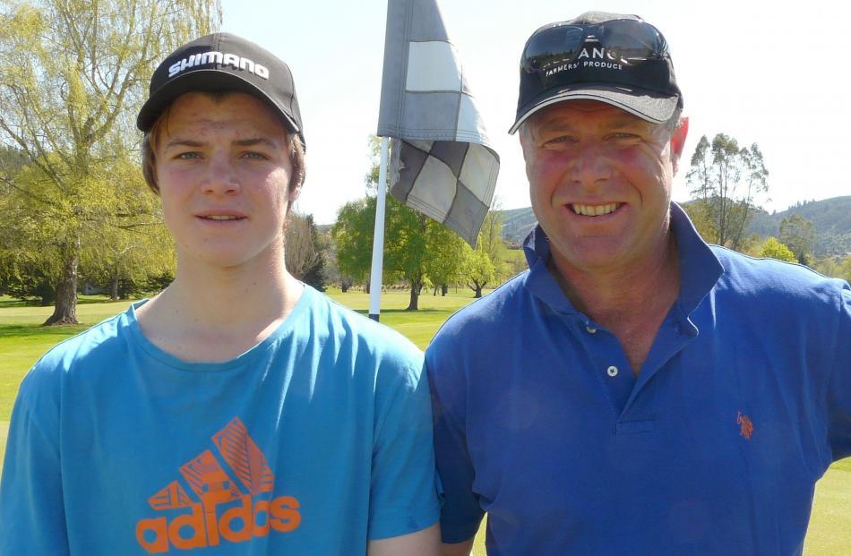 Jack (17) and Don Murray, of Waitahuna.