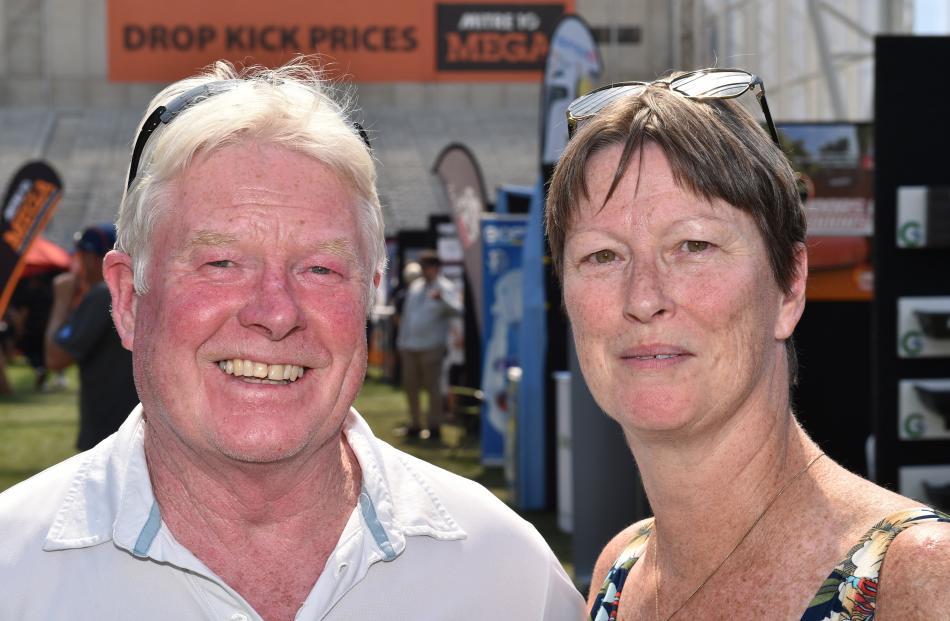 Greg and Jacky Colston, of Dunedin.