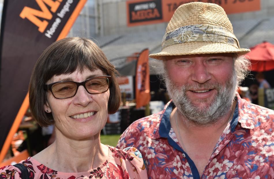 Naomi Chisman and Andrew White, both of Dunedin.