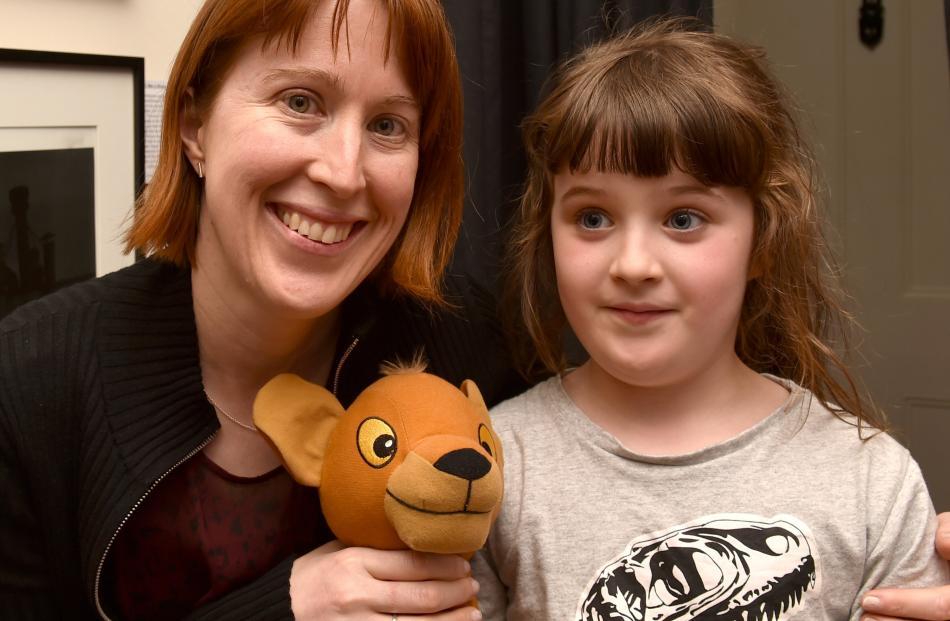 Andrea Insch and Eloise Loughran (7), both of Dunedin.