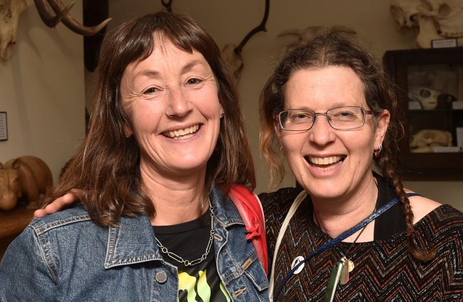 Anna Ferens, of Dunedin, and Jane Davidson, of Purakaunui.