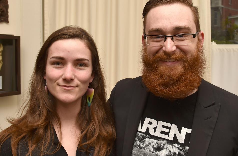 Kaylie Black and Ben Cochrane, both of Dunedin.