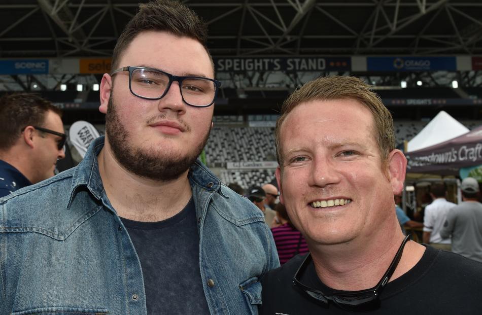 Jarrod Parry, of Australia, and Ryan Smeaton, of Dunedin.
