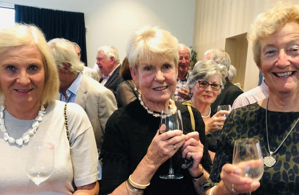 Annabel Spiers, Jan Baird and Sandra Simmonds, all of Wanaka.