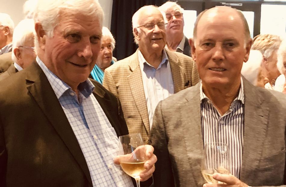 John Wilson, of Wanaka, John Hartnell, of Christchurch, (rear) and Jeff Couch, of Wanaka.
