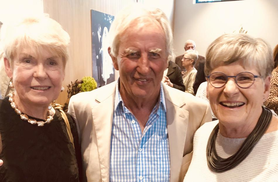 Jan Baird, of Wanaka, Bob Berry, of Queenstown, and Jill Simpson, of Wanaka.