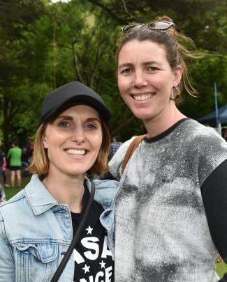Tess Whelan and Ruth Vaughan, both of Dunedin.