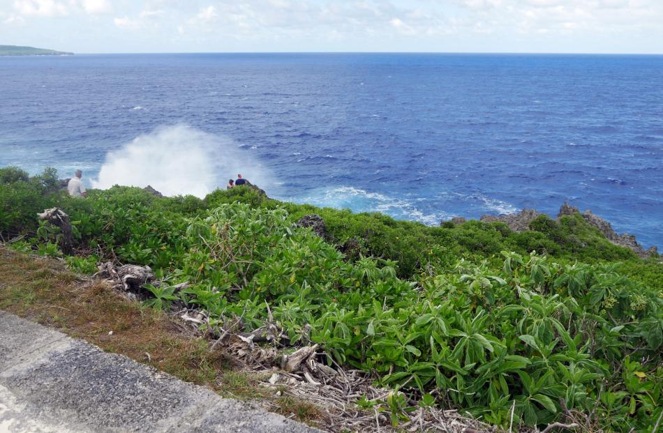 Anaana Point and Blowhole.