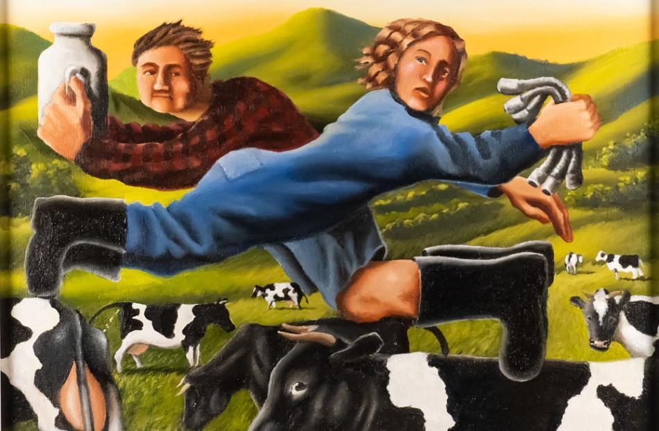 Art auction: from 2pm Sunday, December 8; Hayward's Auction House, 5 Carroll St, Dunedin.
