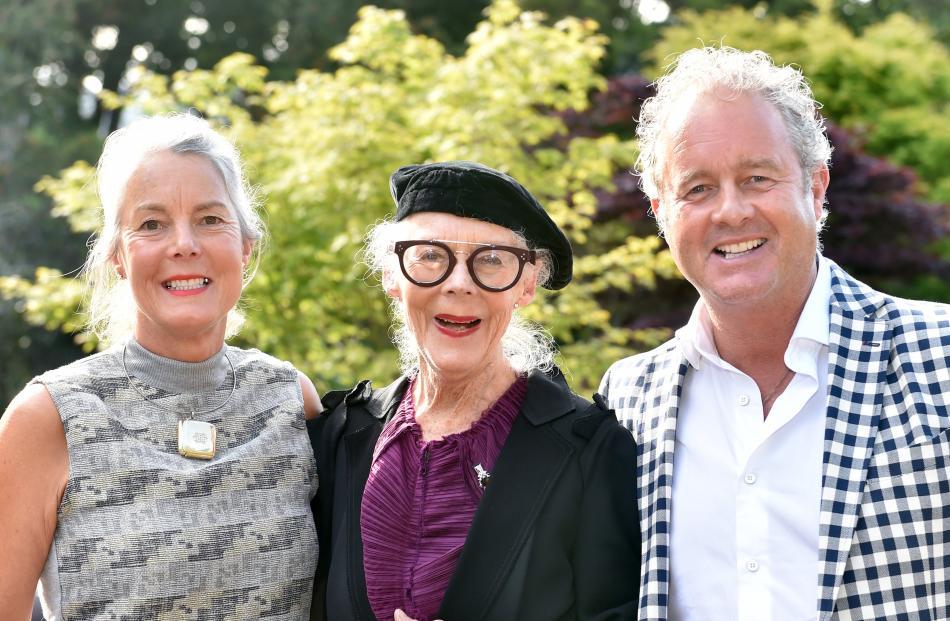 Harriet Brinsley, of Queenstown, Barbara Brinsley, of Dunedin, and Andrew Brinsley, of Arrowtown.
