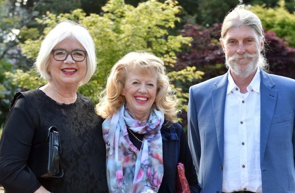 Philippa Connolly, Rosemary Crick and Les McBean, all of Dunedin.