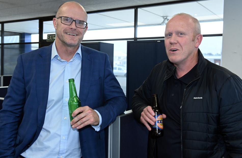 Nathan Adams and Ryan Frew, both of Dunedin.