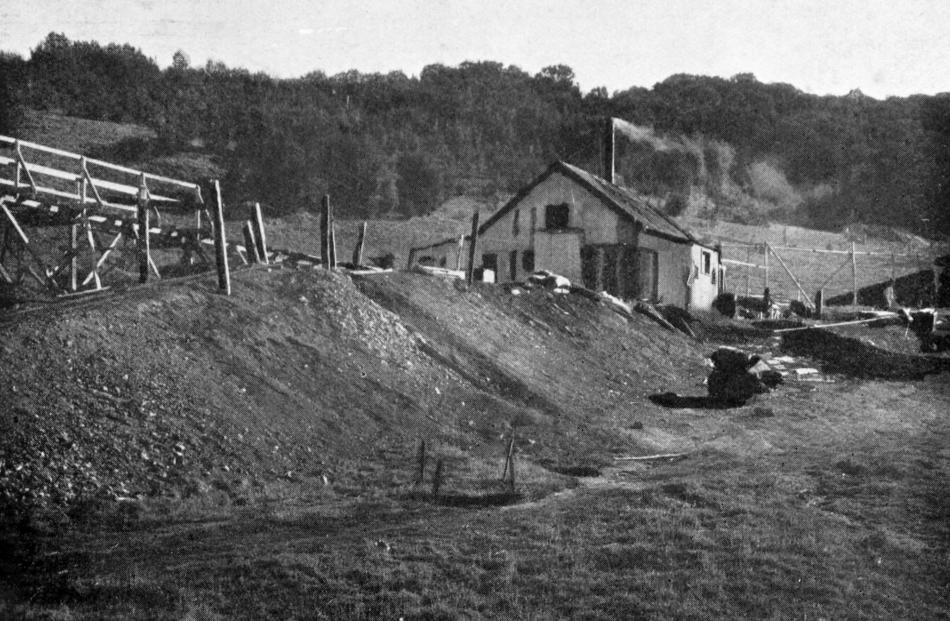 Christie's lower mine, Fairfield. Photo: ODT files