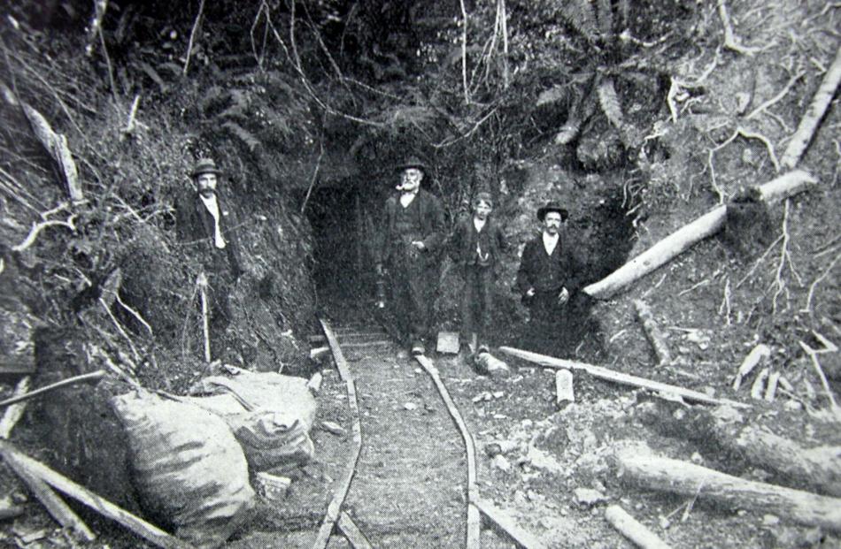 Otago Coal Mine. Photo: ODT files