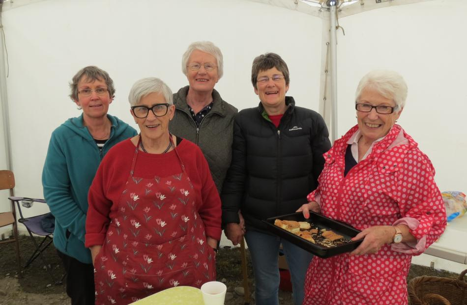 Members of the Waikaka Valley Rural Women New Zealand branch (from left) Janice Craigie, of...
