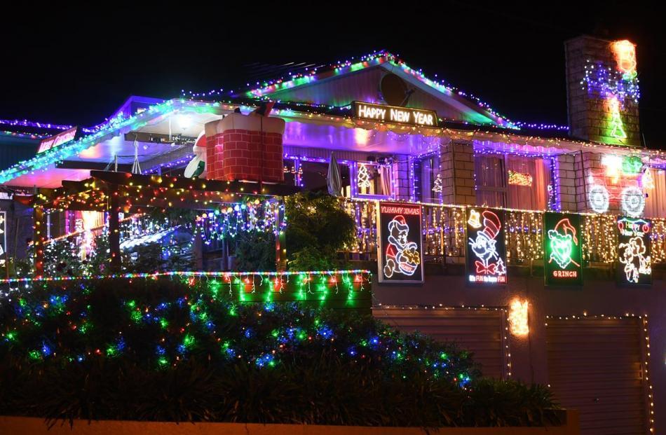 Dunedin Christmas 2021 Christmas Light Attractions All Around Dunedin Otago Daily Times Online News