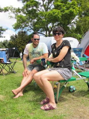 Chris and Eve Poff, of Lyttelton.