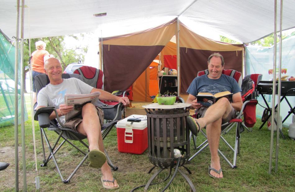 Tony Tinga and Paul Lamont, of Christchurch