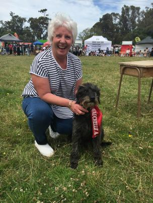 Anne Zwart, of Robinsons Bay (near Akaroa), and her dog Ted claimed bragging rights in winning...