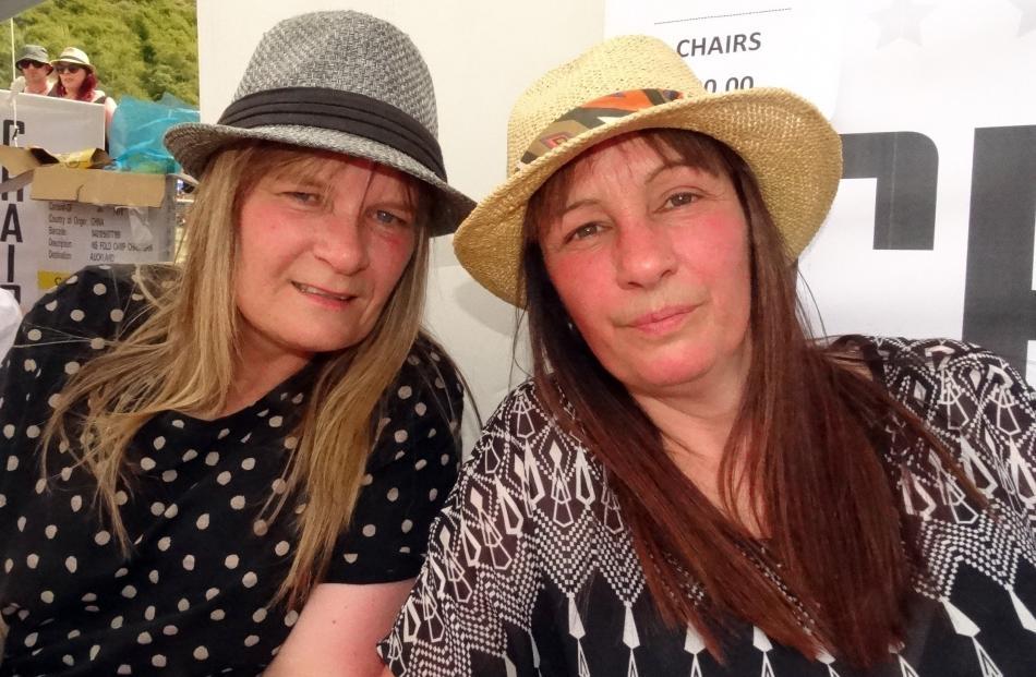 Tracey Crosland and Kim Kennedy, both of Invercargill.