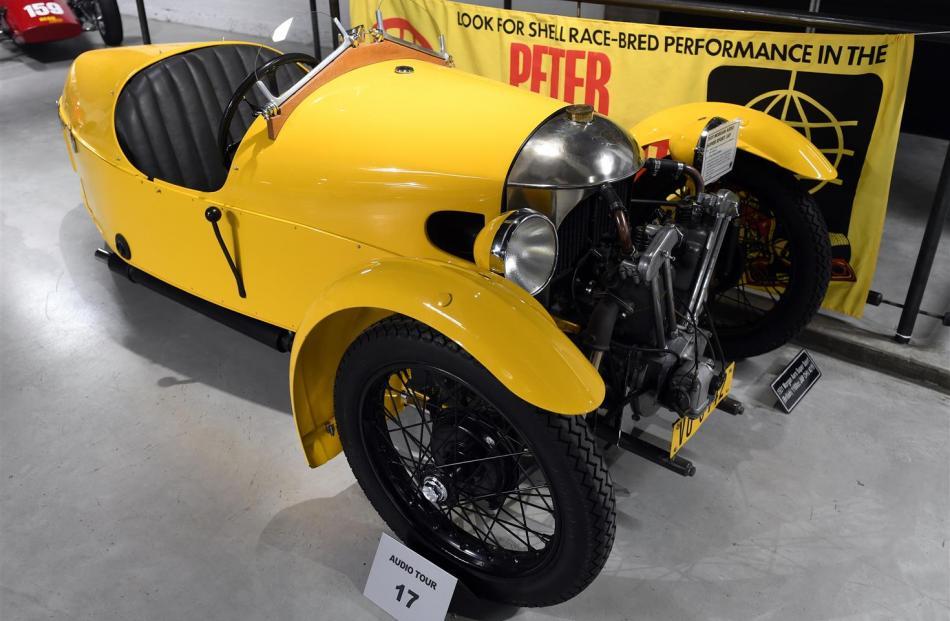 1931 Morgan Aero Super Sport.