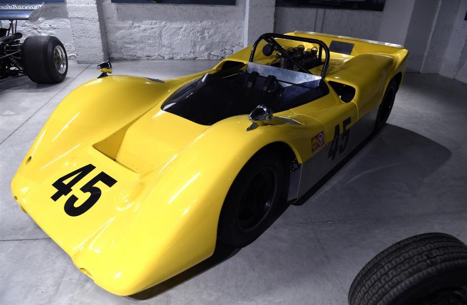 1968 McBegg race car.