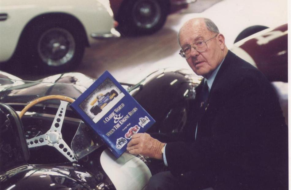 George Begg looks through his book A Classic World and When the Engine Roars.