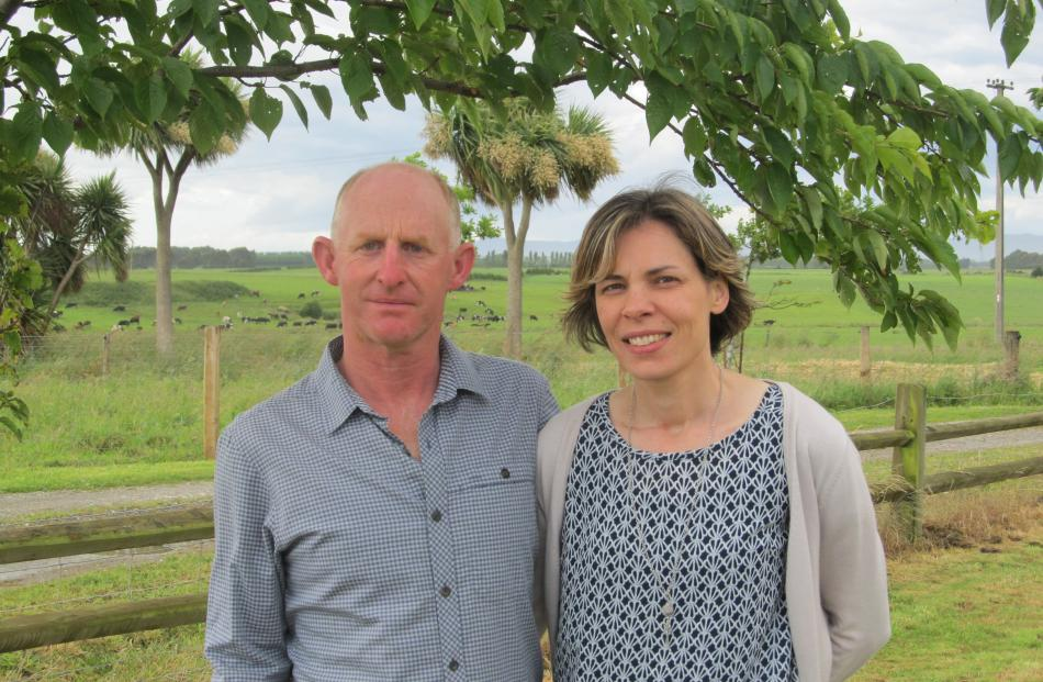 Wyndham dairy farmers Andrew and Vanessa Wilkinson