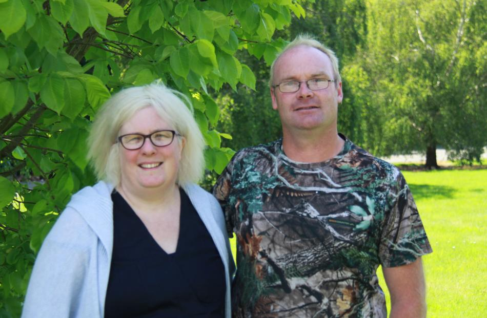 Riverton dairy farmers Robert and Cate Willis